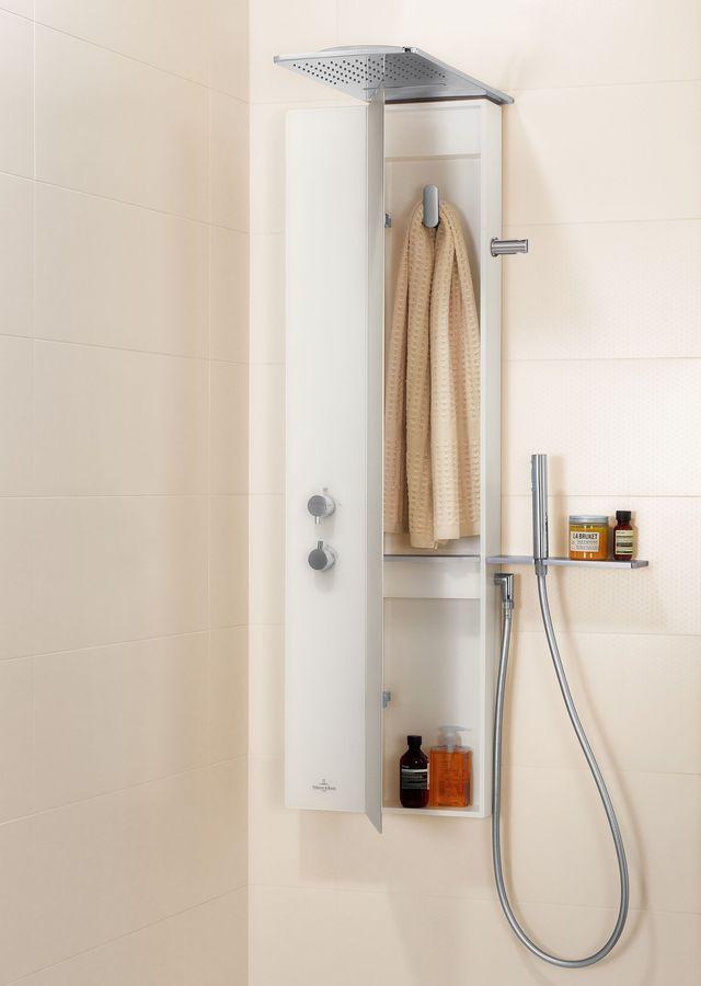 colonne de douche pour rangement les meilleurs mod les. Black Bedroom Furniture Sets. Home Design Ideas